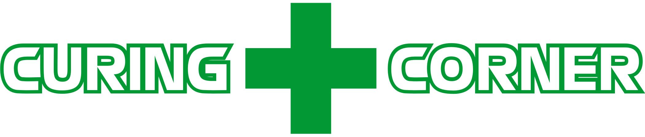 Curing Corner horizontal logo-trans BG